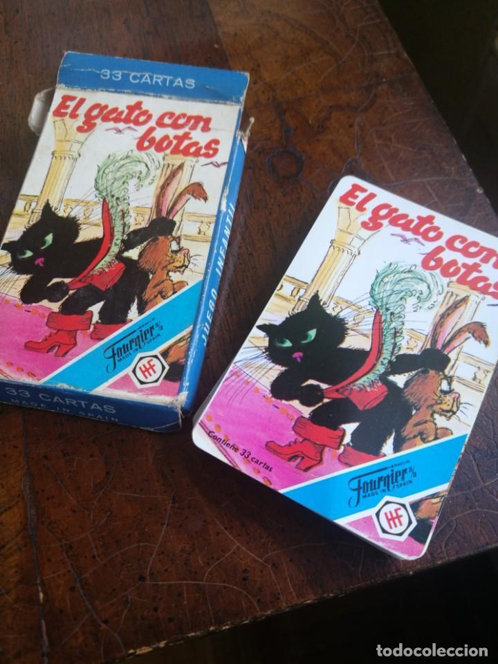 EL GATO CON BOTAS. (Juguetes y Juegos - Cartas y Naipes - Barajas Infantiles)