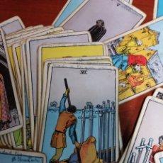 Barajas de cartas: ANTIGUAS CARTAS DEL TAROT. Lote 165718957