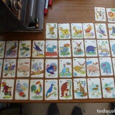 Barajas de cartas: BARAJA INFANTIL EL JUEGO DE LAS PAREJAS EDICIONES RECREATIVAS AÑOS 60. Lote 165774774
