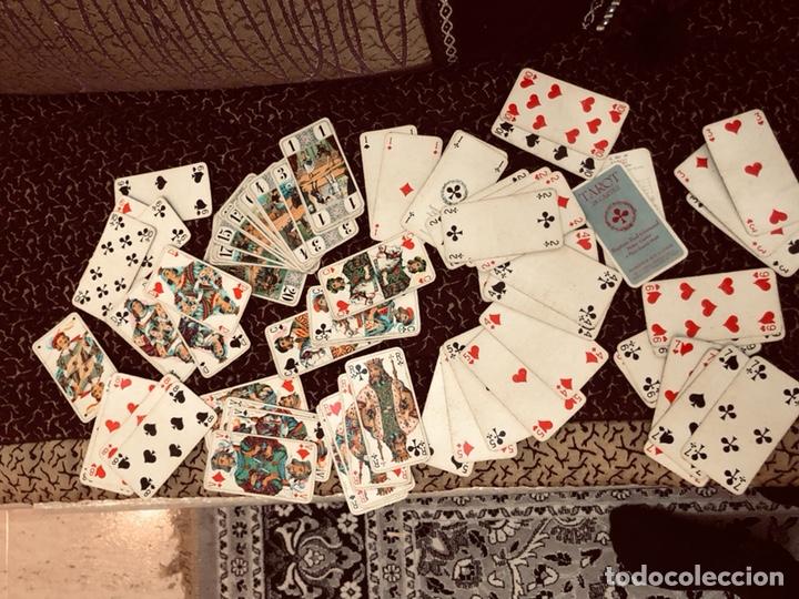 Barajas de cartas: Juego de naipes de 55 antiguas cartas de B.P grimaud ( Francia)1870 están en buen estado - Foto 4 - 165853037