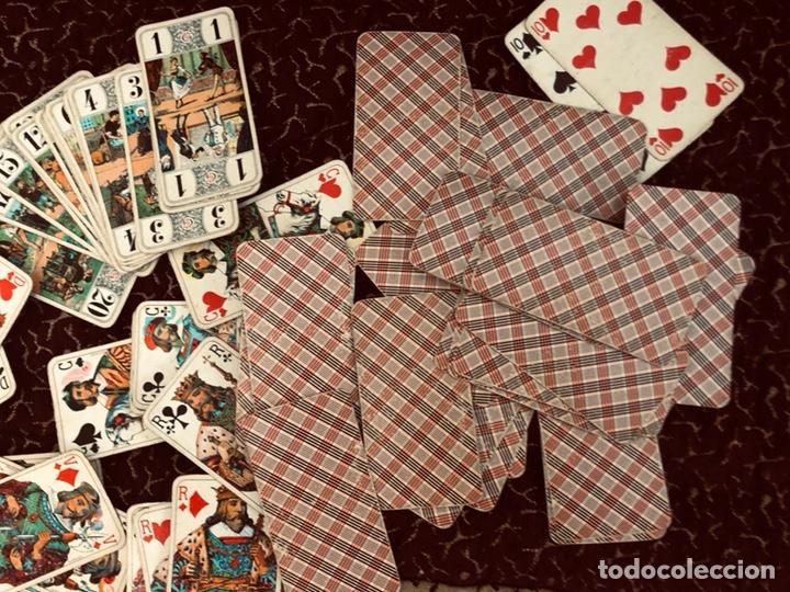 Barajas de cartas: Juego de naipes de 55 antiguas cartas de B.P grimaud ( Francia)1870 están en buen estado - Foto 5 - 165853037