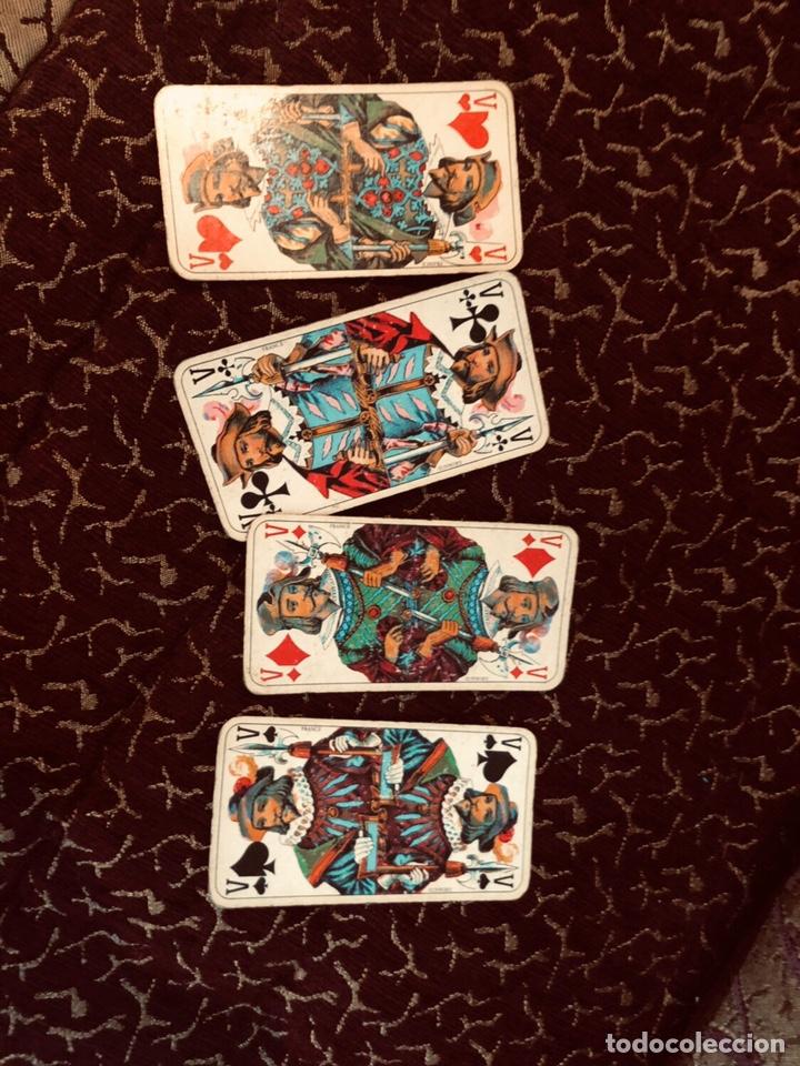 Barajas de cartas: Juego de naipes de 55 antiguas cartas de B.P grimaud ( Francia)1870 están en buen estado - Foto 11 - 165853037