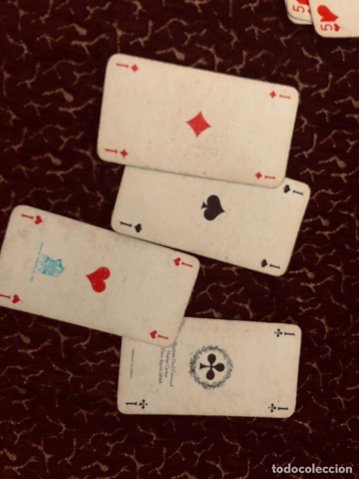 Barajas de cartas: Juego de naipes de 55 antiguas cartas de B.P grimaud ( Francia)1870 están en buen estado - Foto 13 - 165853037