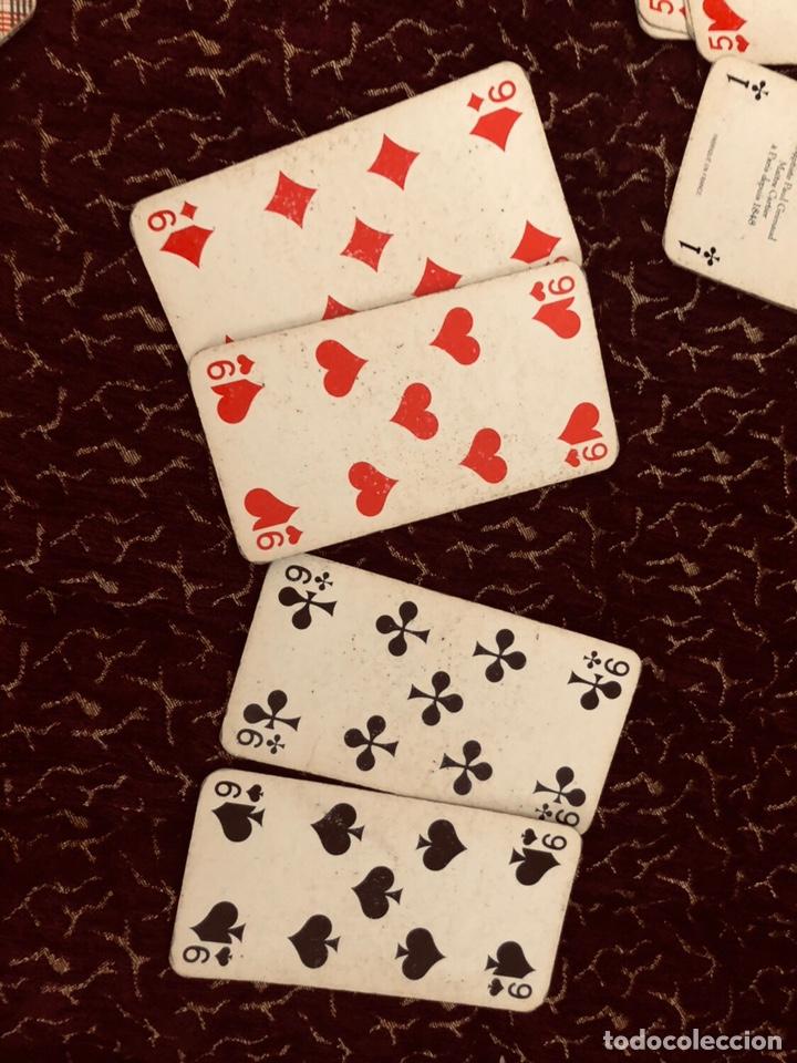 Barajas de cartas: Juego de naipes de 55 antiguas cartas de B.P grimaud ( Francia)1870 están en buen estado - Foto 14 - 165853037