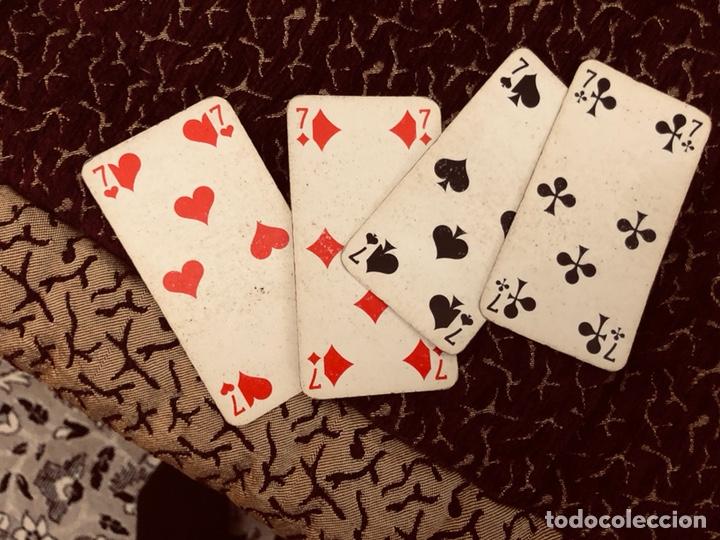 Barajas de cartas: Juego de naipes de 55 antiguas cartas de B.P grimaud ( Francia)1870 están en buen estado - Foto 17 - 165853037