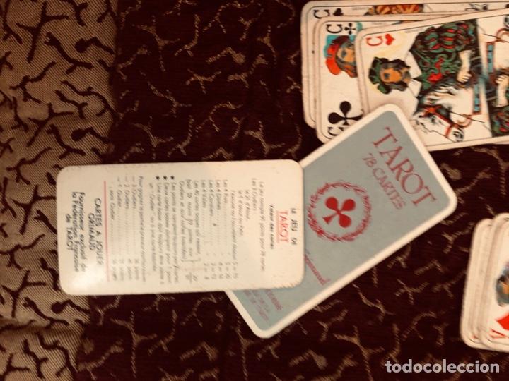 Barajas de cartas: Juego de naipes de 55 antiguas cartas de B.P grimaud ( Francia)1870 están en buen estado - Foto 21 - 165853037