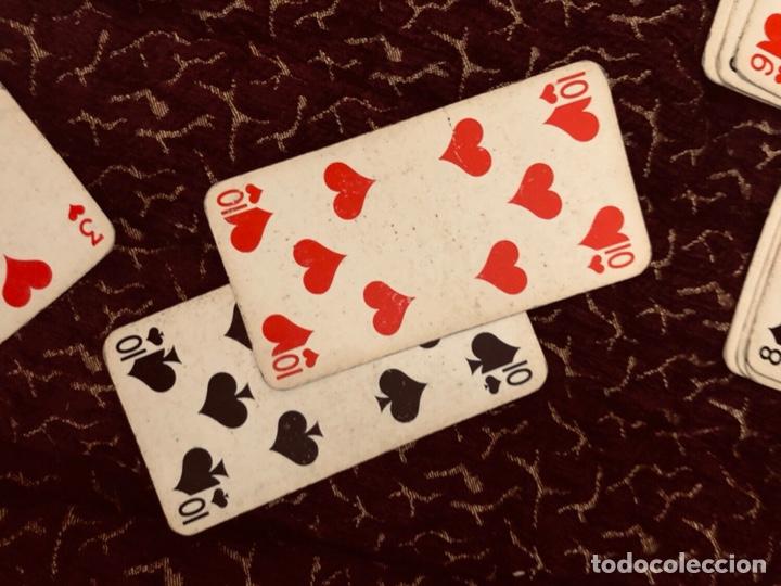 Barajas de cartas: Juego de naipes de 55 antiguas cartas de B.P grimaud ( Francia)1870 están en buen estado - Foto 22 - 165853037
