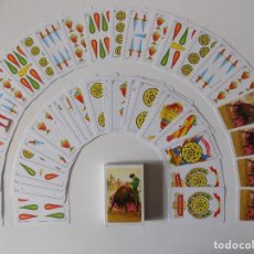Barajas de cartas: LIBRERIA GHOTICA. BARAJA ESPAÑOLA DE TAUROMAQUIA. 1990. NAIPES DE 1A CALIDAD.. Lote 165881850