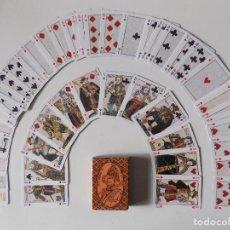 Barajas de cartas: LIBRERIA GHOTICA. BARAJA DE HENRI IV. FACSIMIL SIGLO XVI. 1980.. Lote 165883370