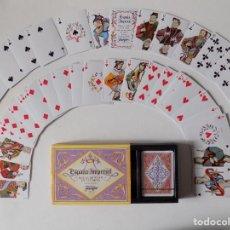 Barajas de cartas: LIBRERIA GHOTICA. 2 BARAJAS ESPAÑA IMPERIAL POKER DE 54 CARTAS. 1980. CON ESTUCHE.. Lote 165884658