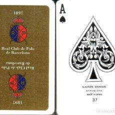 Barajas de cartas: REAL CLUB DE POLO BARCELONA - BARAJA DE BRIDGE . Lote 165995162