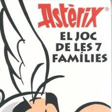 Jeux de cartes: JOC DE CARTES ASTÈRIX. EL JOC DE LES 7 FAMÍLIES. Lote 182144292