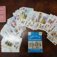 Barajas de cartas - TAROT BARAJA GRAN FORMATO LENORMAND 54 CARTAS Y MANUAL , B.P. GRIMAUD - 166132718