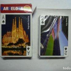 Barajas de cartas: 1 BARAJA DE CARTAS DE BARCELONA. Lote 166132730