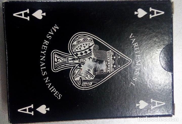 Barajas de cartas: BARAJA BLACK POKER, DE MAS REYNALS NAIPES-VARITEMAS, A ESTRENAR SIN DESPRECINTAR - Foto 2 - 207136456