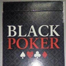 Barajas de cartas: BARAJA BLACK POKER, DE MAS REYNALS NAIPES-VARITEMAS, A ESTRENAR SIN DESPRECINTAR. Lote 207136456