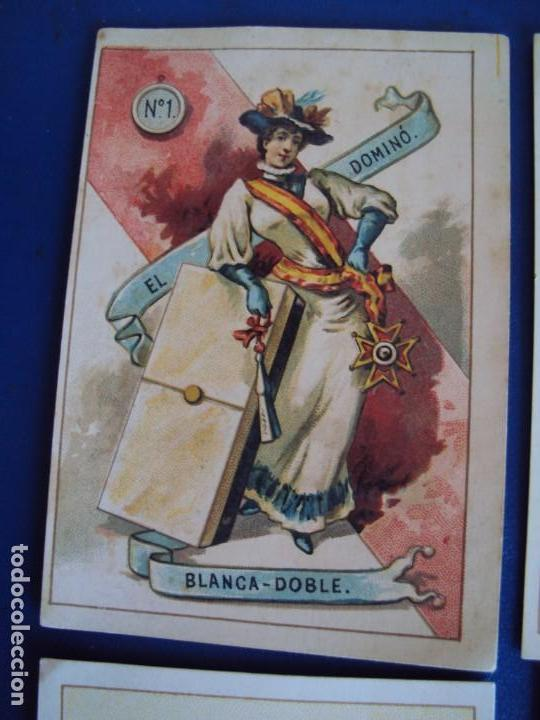 Barajas de cartas: (BA-190500)FABRICA DE CHOCOLATES EL BARCO - VALENCIA - DOMINO - 28 NAIPES - Foto 3 - 166540886