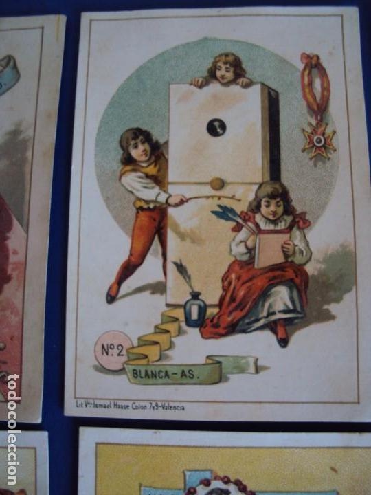 Barajas de cartas: (BA-190500)FABRICA DE CHOCOLATES EL BARCO - VALENCIA - DOMINO - 28 NAIPES - Foto 4 - 166540886
