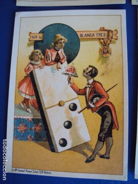 Barajas de cartas: (BA-190500)FABRICA DE CHOCOLATES EL BARCO - VALENCIA - DOMINO - 28 NAIPES - Foto 6 - 166540886