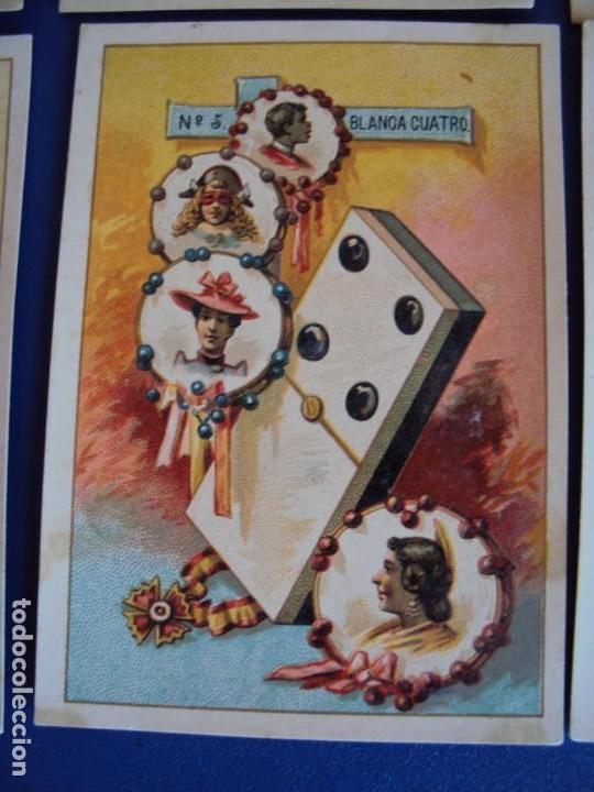 Barajas de cartas: (BA-190500)FABRICA DE CHOCOLATES EL BARCO - VALENCIA - DOMINO - 28 NAIPES - Foto 7 - 166540886