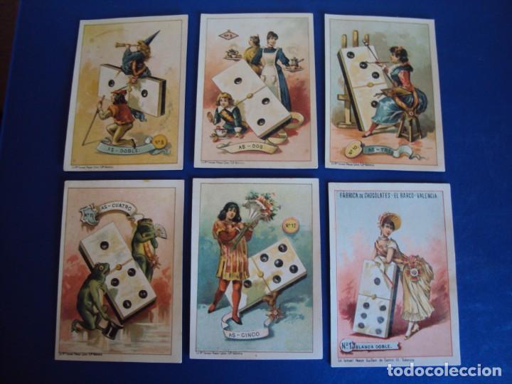 Barajas de cartas: (BA-190500)FABRICA DE CHOCOLATES EL BARCO - VALENCIA - DOMINO - 28 NAIPES - Foto 10 - 166540886