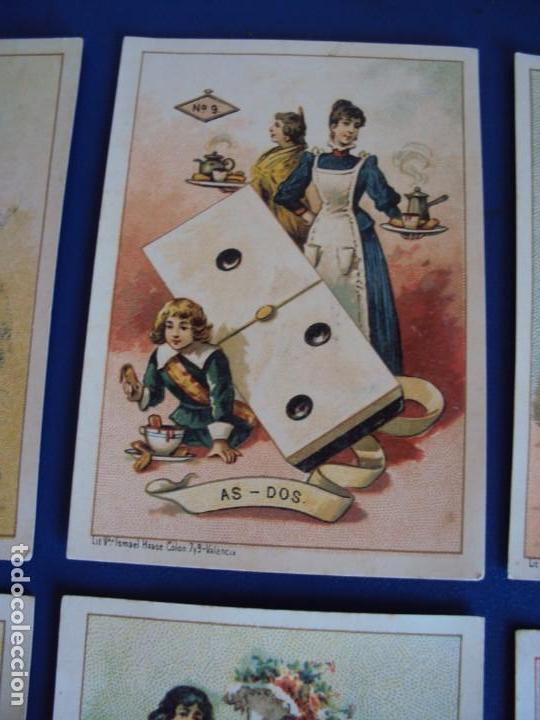Barajas de cartas: (BA-190500)FABRICA DE CHOCOLATES EL BARCO - VALENCIA - DOMINO - 28 NAIPES - Foto 12 - 166540886