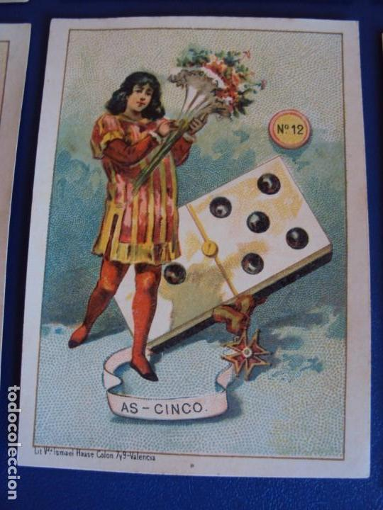 Barajas de cartas: (BA-190500)FABRICA DE CHOCOLATES EL BARCO - VALENCIA - DOMINO - 28 NAIPES - Foto 15 - 166540886