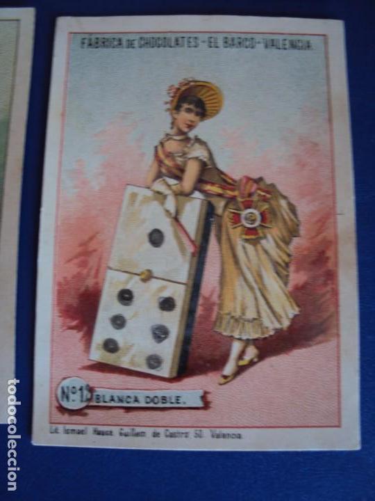 Barajas de cartas: (BA-190500)FABRICA DE CHOCOLATES EL BARCO - VALENCIA - DOMINO - 28 NAIPES - Foto 16 - 166540886