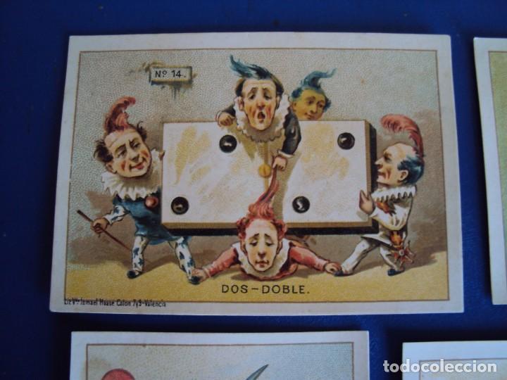 Barajas de cartas: (BA-190500)FABRICA DE CHOCOLATES EL BARCO - VALENCIA - DOMINO - 28 NAIPES - Foto 19 - 166540886