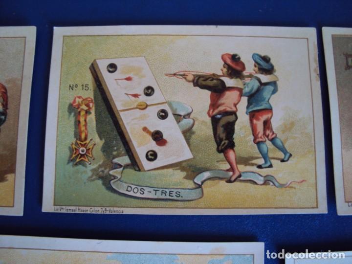 Barajas de cartas: (BA-190500)FABRICA DE CHOCOLATES EL BARCO - VALENCIA - DOMINO - 28 NAIPES - Foto 20 - 166540886