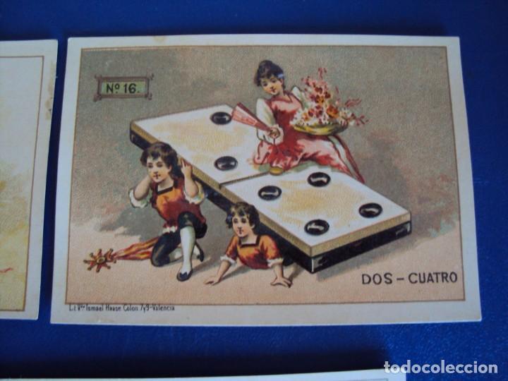 Barajas de cartas: (BA-190500)FABRICA DE CHOCOLATES EL BARCO - VALENCIA - DOMINO - 28 NAIPES - Foto 21 - 166540886