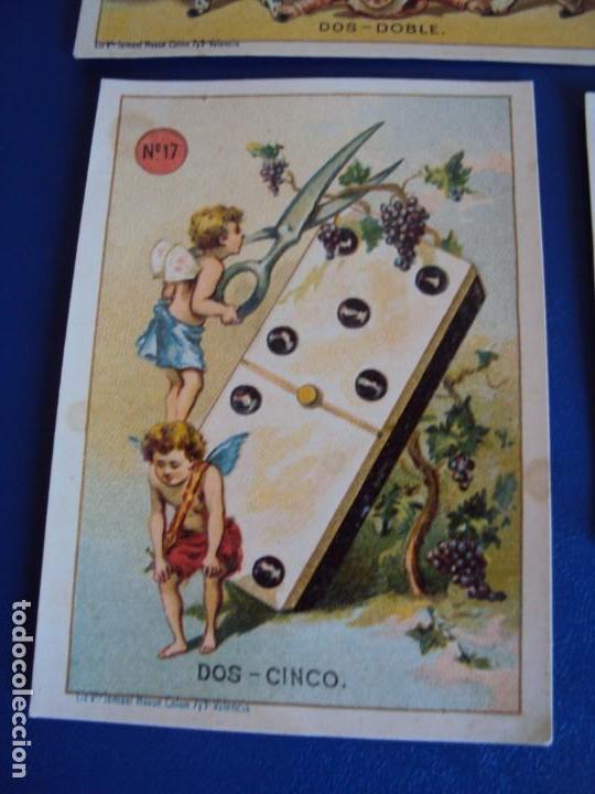 Barajas de cartas: (BA-190500)FABRICA DE CHOCOLATES EL BARCO - VALENCIA - DOMINO - 28 NAIPES - Foto 22 - 166540886