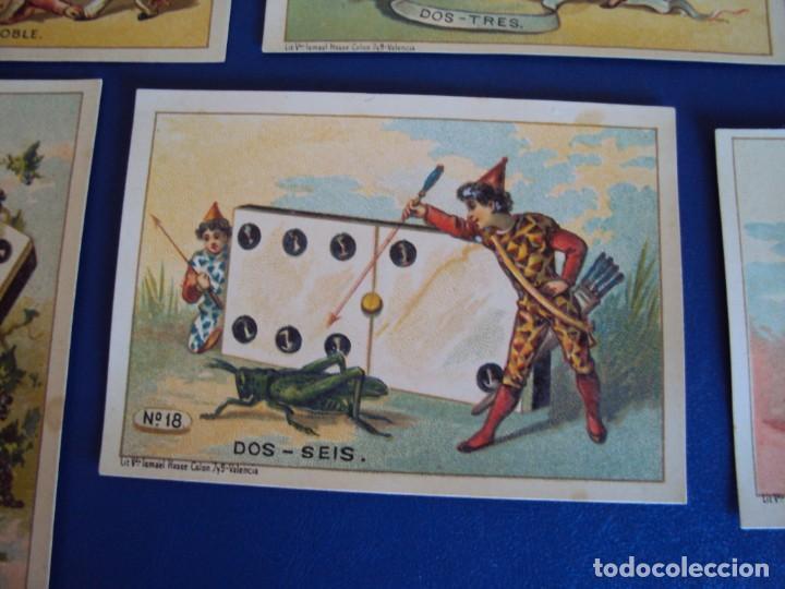 Barajas de cartas: (BA-190500)FABRICA DE CHOCOLATES EL BARCO - VALENCIA - DOMINO - 28 NAIPES - Foto 23 - 166540886