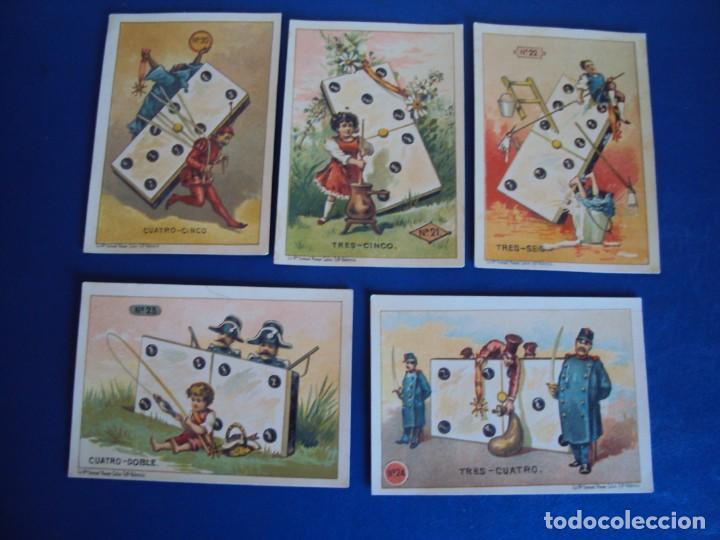 Barajas de cartas: (BA-190500)FABRICA DE CHOCOLATES EL BARCO - VALENCIA - DOMINO - 28 NAIPES - Foto 25 - 166540886