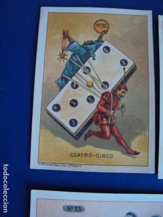Barajas de cartas: (BA-190500)FABRICA DE CHOCOLATES EL BARCO - VALENCIA - DOMINO - 28 NAIPES - Foto 26 - 166540886