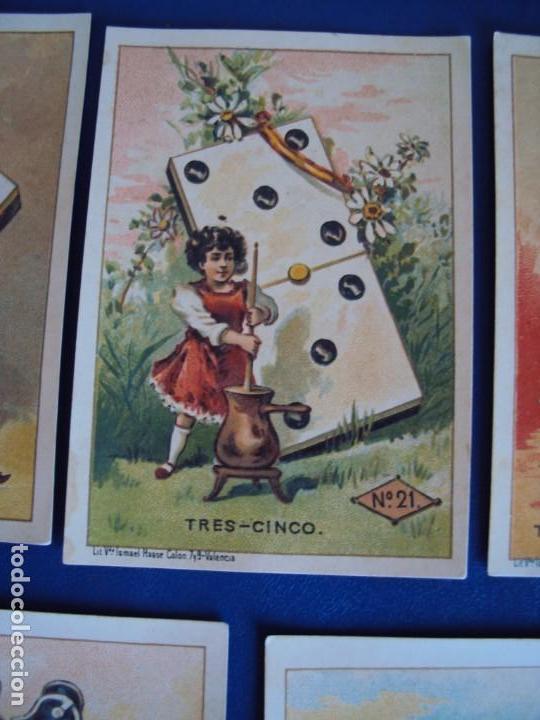 Barajas de cartas: (BA-190500)FABRICA DE CHOCOLATES EL BARCO - VALENCIA - DOMINO - 28 NAIPES - Foto 27 - 166540886