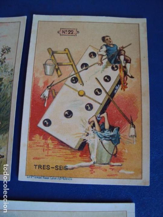 Barajas de cartas: (BA-190500)FABRICA DE CHOCOLATES EL BARCO - VALENCIA - DOMINO - 28 NAIPES - Foto 28 - 166540886