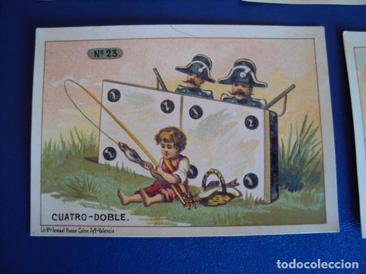 Barajas de cartas: (BA-190500)FABRICA DE CHOCOLATES EL BARCO - VALENCIA - DOMINO - 28 NAIPES - Foto 29 - 166540886