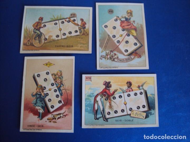 Barajas de cartas: (BA-190500)FABRICA DE CHOCOLATES EL BARCO - VALENCIA - DOMINO - 28 NAIPES - Foto 31 - 166540886