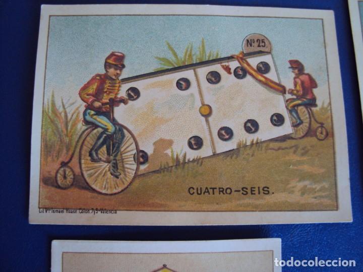 Barajas de cartas: (BA-190500)FABRICA DE CHOCOLATES EL BARCO - VALENCIA - DOMINO - 28 NAIPES - Foto 32 - 166540886