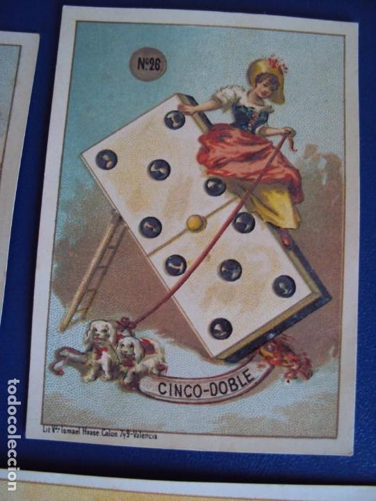 Barajas de cartas: (BA-190500)FABRICA DE CHOCOLATES EL BARCO - VALENCIA - DOMINO - 28 NAIPES - Foto 33 - 166540886