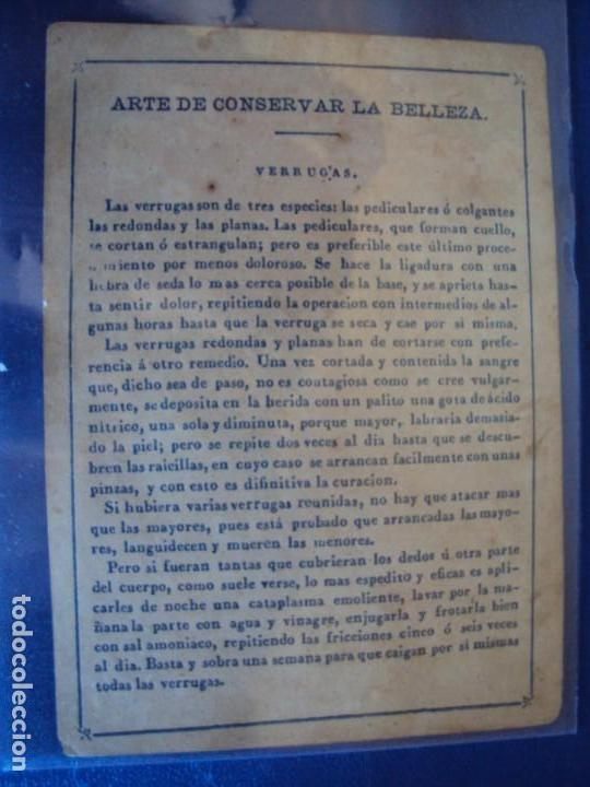 Barajas de cartas: (BA-190501)BARAJA DE LOS ENAMORADOS. DEDICADA AL PRESTIDIGITADOR CATALÁN D. FRUCTUOSO CANONJE XIX - Foto 6 - 166542314