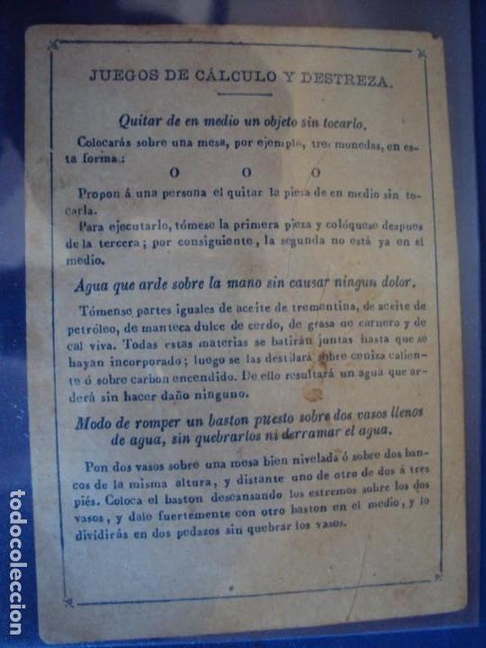 Barajas de cartas: (BA-190501)BARAJA DE LOS ENAMORADOS. DEDICADA AL PRESTIDIGITADOR CATALÁN D. FRUCTUOSO CANONJE XIX - Foto 10 - 166542314