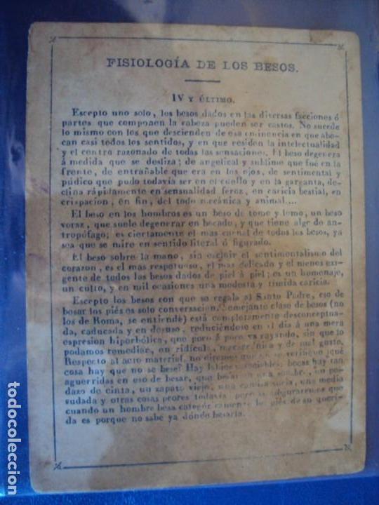 Barajas de cartas: (BA-190501)BARAJA DE LOS ENAMORADOS. DEDICADA AL PRESTIDIGITADOR CATALÁN D. FRUCTUOSO CANONJE XIX - Foto 28 - 166542314