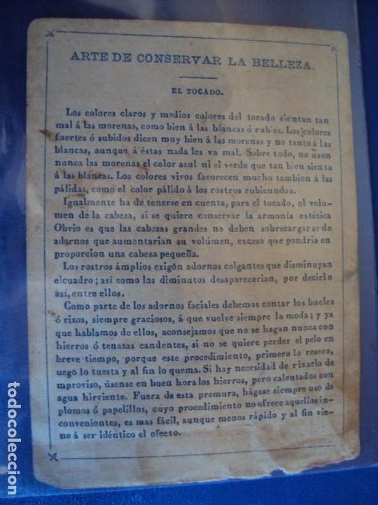 Barajas de cartas: (BA-190501)BARAJA DE LOS ENAMORADOS. DEDICADA AL PRESTIDIGITADOR CATALÁN D. FRUCTUOSO CANONJE XIX - Foto 30 - 166542314