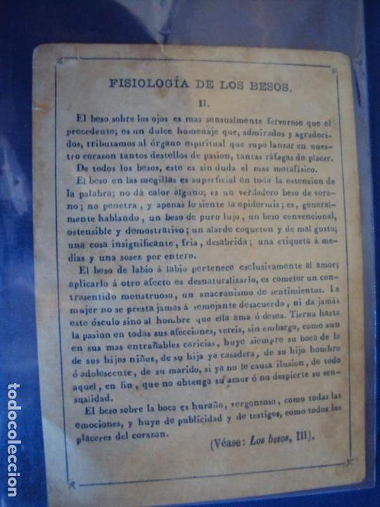Barajas de cartas: (BA-190501)BARAJA DE LOS ENAMORADOS. DEDICADA AL PRESTIDIGITADOR CATALÁN D. FRUCTUOSO CANONJE XIX - Foto 32 - 166542314