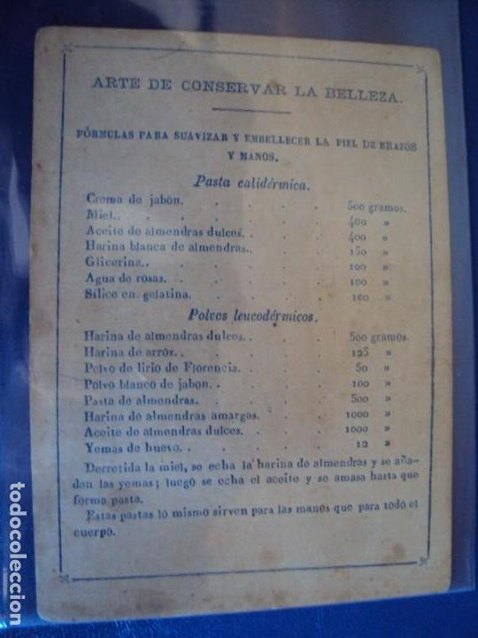 Barajas de cartas: (BA-190501)BARAJA DE LOS ENAMORADOS. DEDICADA AL PRESTIDIGITADOR CATALÁN D. FRUCTUOSO CANONJE XIX - Foto 36 - 166542314