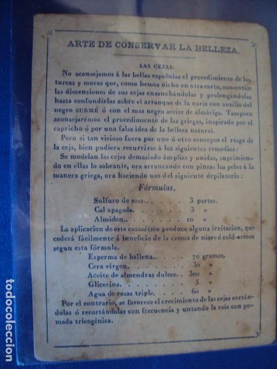 Barajas de cartas: (BA-190501)BARAJA DE LOS ENAMORADOS. DEDICADA AL PRESTIDIGITADOR CATALÁN D. FRUCTUOSO CANONJE XIX - Foto 38 - 166542314