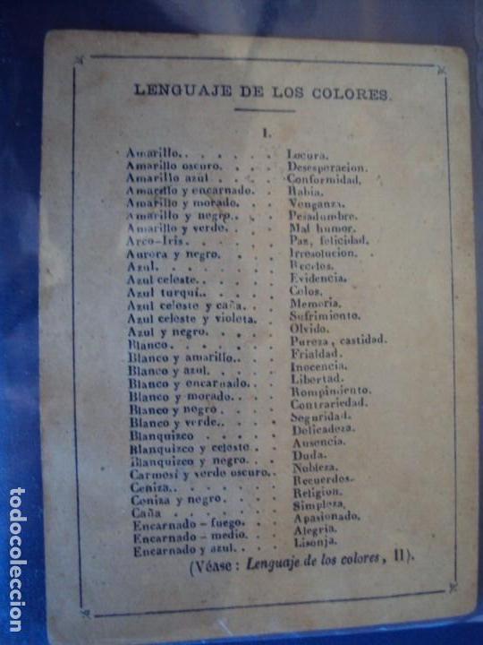 Barajas de cartas: (BA-190501)BARAJA DE LOS ENAMORADOS. DEDICADA AL PRESTIDIGITADOR CATALÁN D. FRUCTUOSO CANONJE XIX - Foto 40 - 166542314