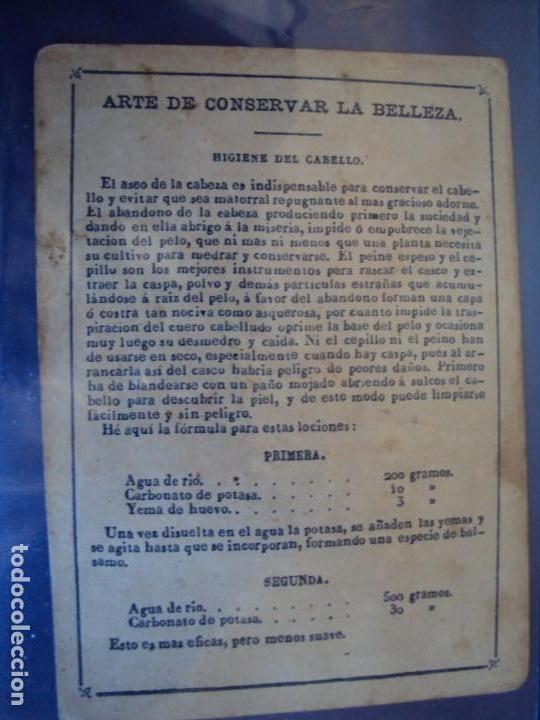 Barajas de cartas: (BA-190501)BARAJA DE LOS ENAMORADOS. DEDICADA AL PRESTIDIGITADOR CATALÁN D. FRUCTUOSO CANONJE XIX - Foto 46 - 166542314
